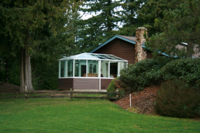 Big House: Small Dining Room - A New Sunroom in Olympia
